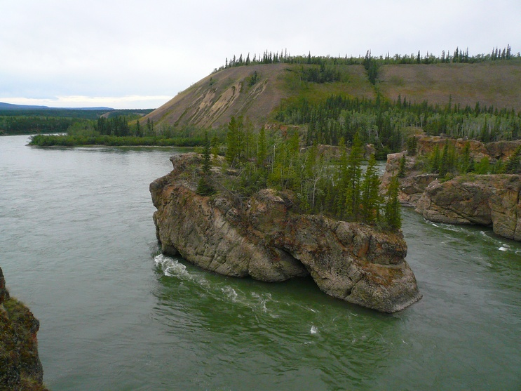 The Five Finger Rapids - Yukon - Canada